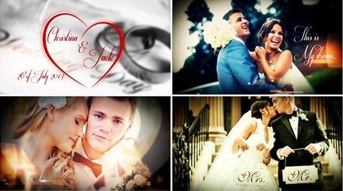 montaż ślubny