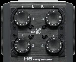 rejestrator dzwieku-h6