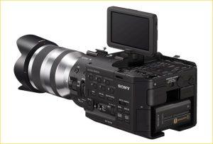przyciski - aparat do filmowania