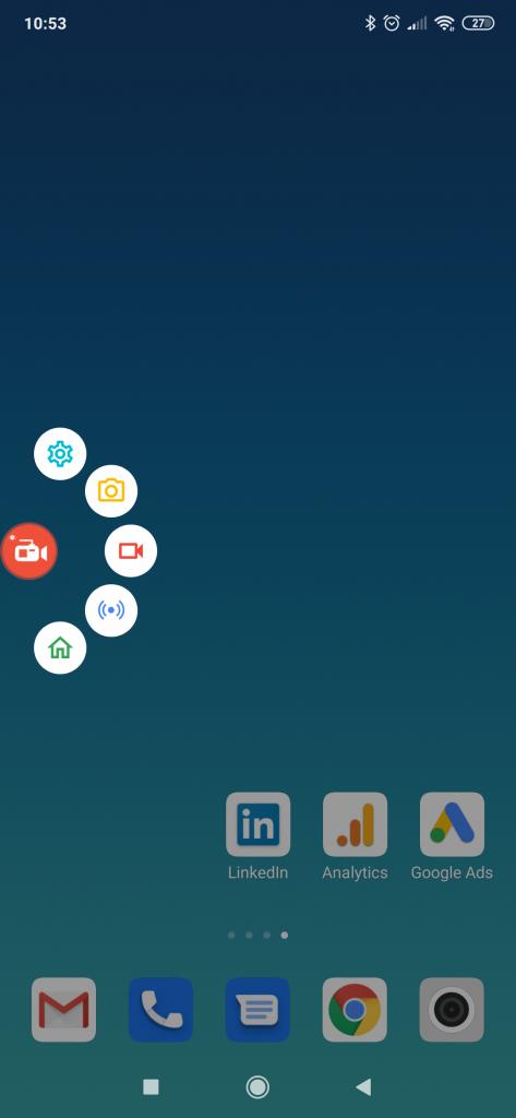 nagrywanie ekranu Android