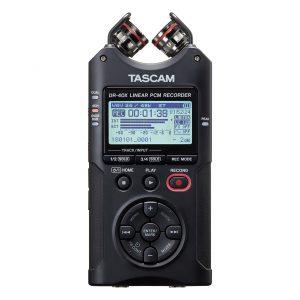 tascam-dr-40x nagrywanie filmow na yt