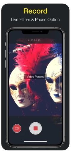 aplikacja do nagrywania filmów ios