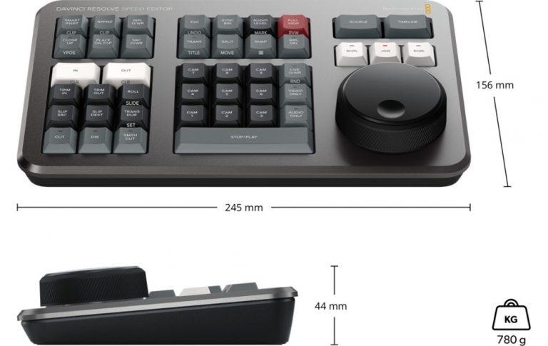 speed editor klawiatura